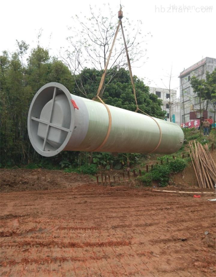 浙江省嘉兴市玻璃钢一体化预制泵站