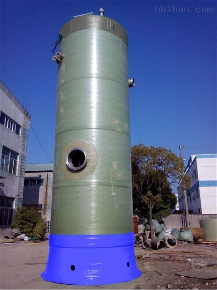 浙江省舟山市玻璃钢一体化预制泵站