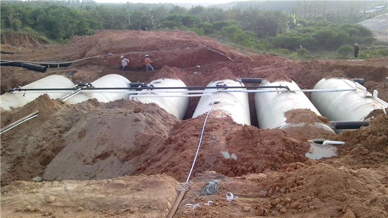 银川市灵武市地埋式-一体化-污水处理设备