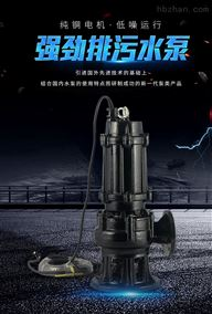 WQ型潛水污水提升泵