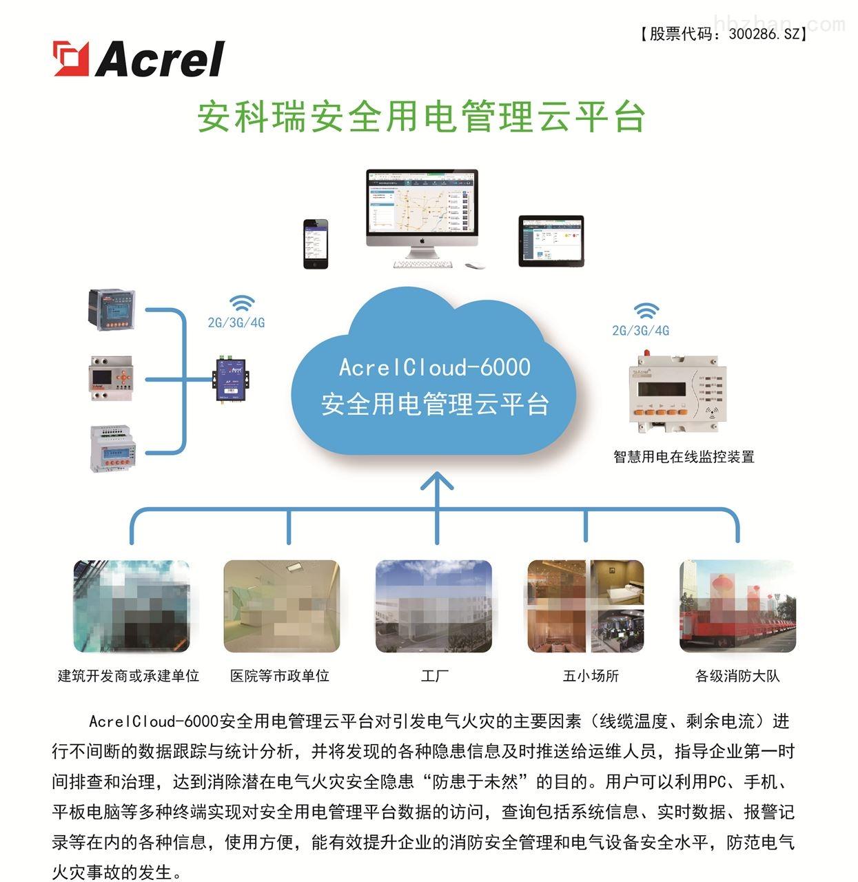 广西玉林市智慧用电监控系统—架构方案
