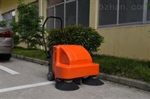 西安工廠地面除塵用電動手推式掃地機