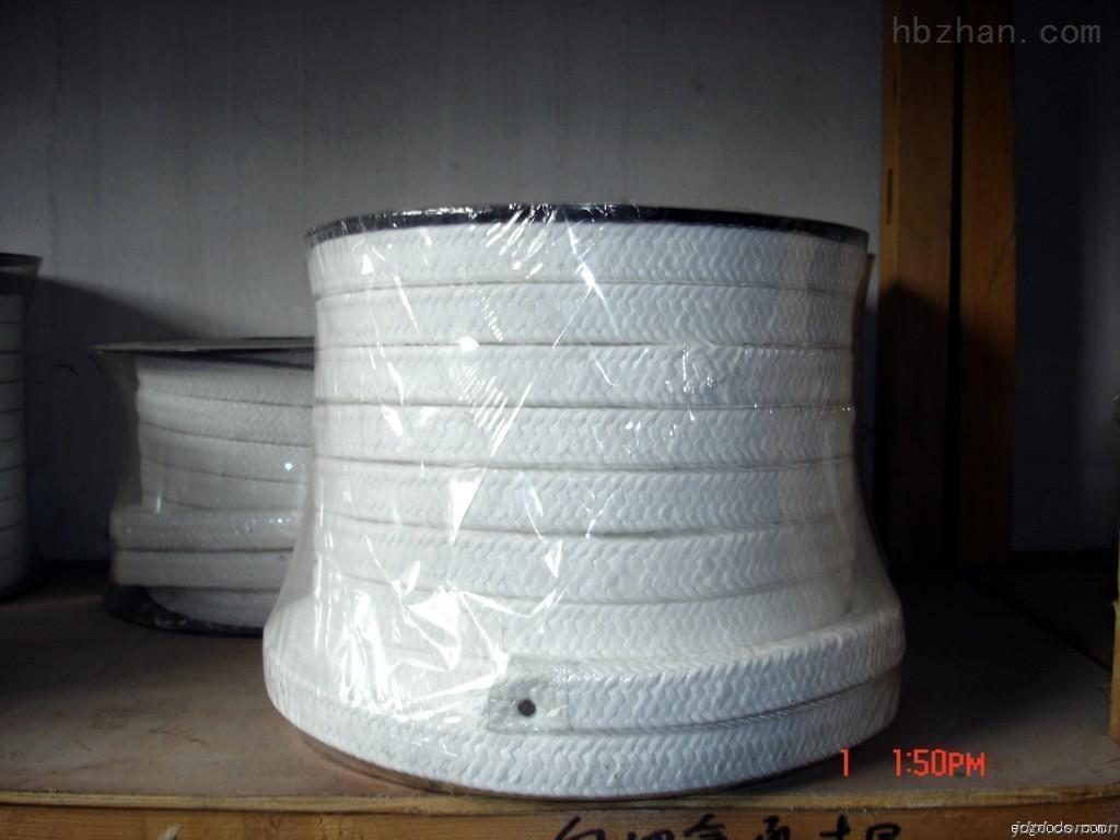 自润滑一级白四氟盘根、四氟填料环生产厂家