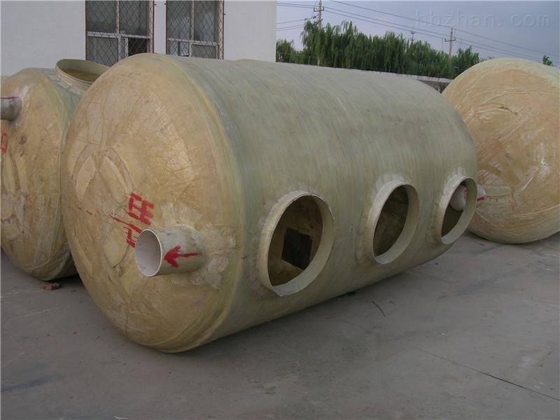 上海浦东新区玻璃钢化粪池厂家供货