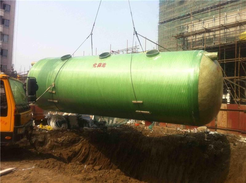 上海虹口区玻璃钢化粪池找