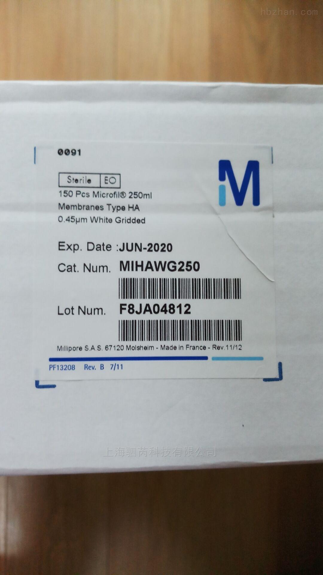 merck Microfil过滤器过滤膜套装MIHAWG250
