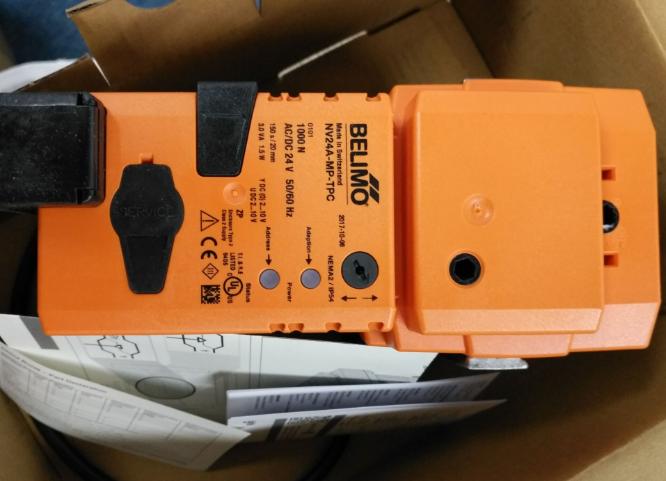 博力谋BELIMO截止阀安装与维护注意事项