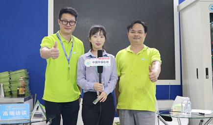 丽盈环保第五代餐饮无烟净化系统添彩广州环博会