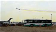 中興智能汽車助力中國航展 300臺電動巴士提供30萬人次免費通勤服務