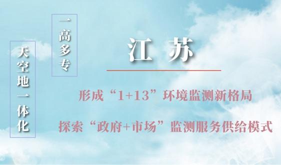 """江苏:推动形成""""1+13""""环境监测新格局"""