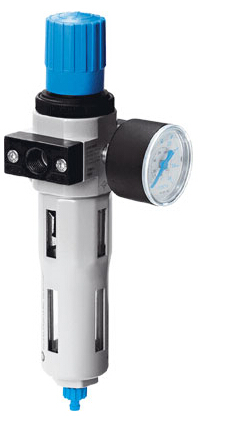 festo垂直安装减压阀,lfr-1/4-d-5m-mini-a图片