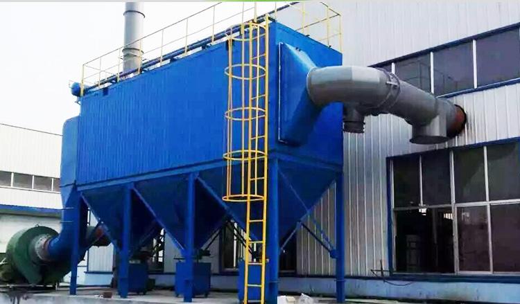 1,dmc型脉冲布袋除尘器工作原理