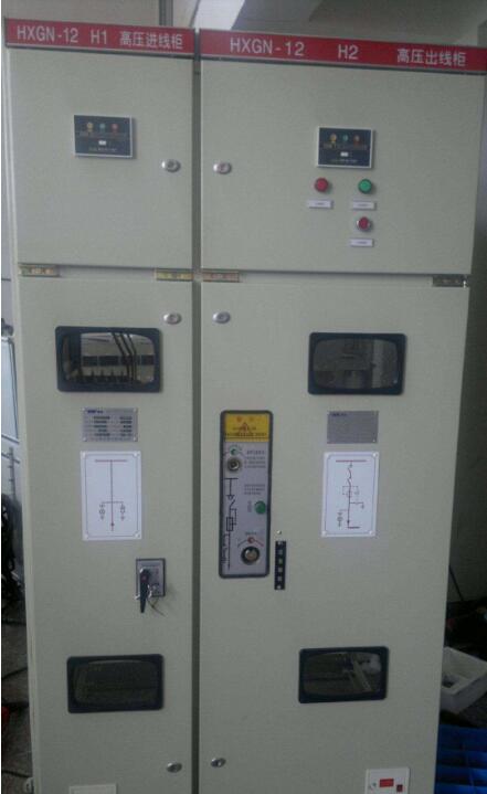 西安hxgn-12高压开关柜厂家_箱式变电站-西安华仪电气图片