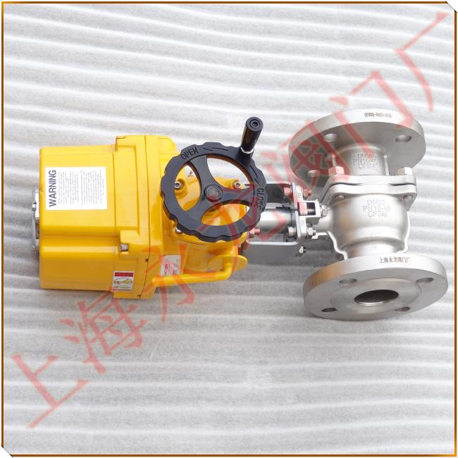 上海永龙阀门厂电动执行器佼佼者-电动阀门-电动切断阀-电动球阀-电动图片