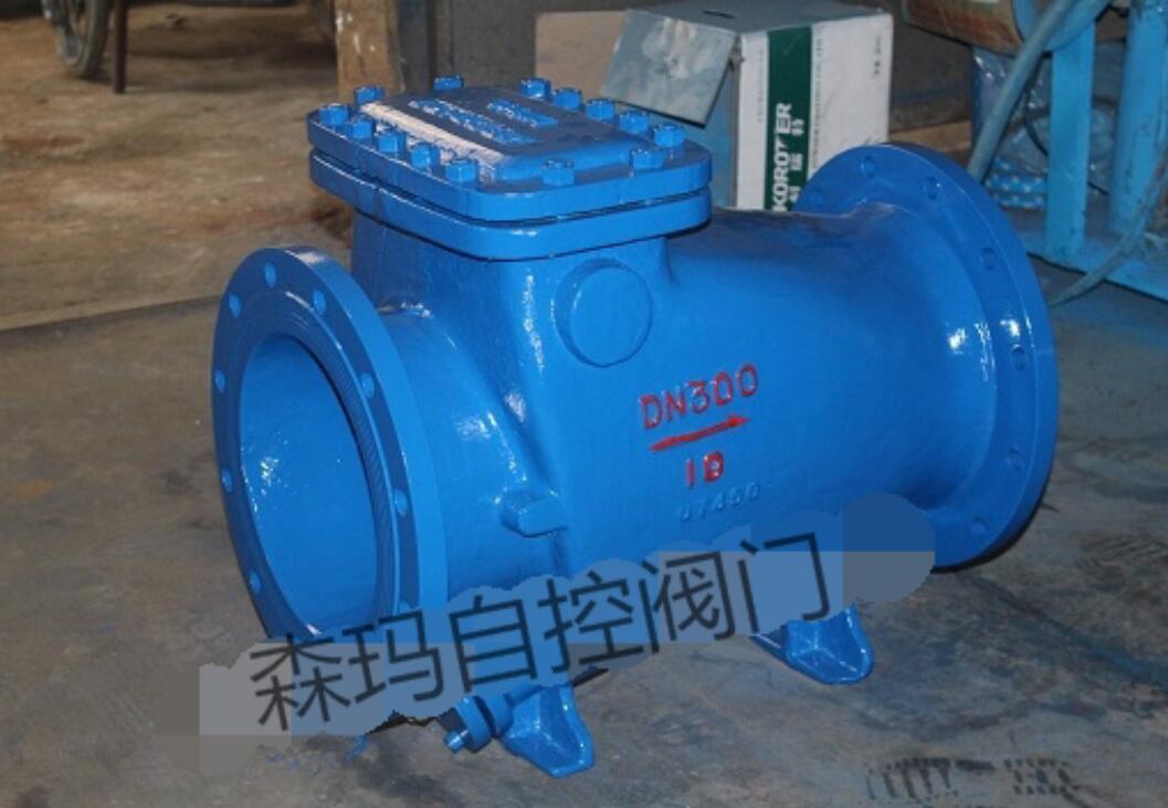 橡胶瓣止回阀主要由阀体、阀盖及橡胶瓣三种主要零件组成。