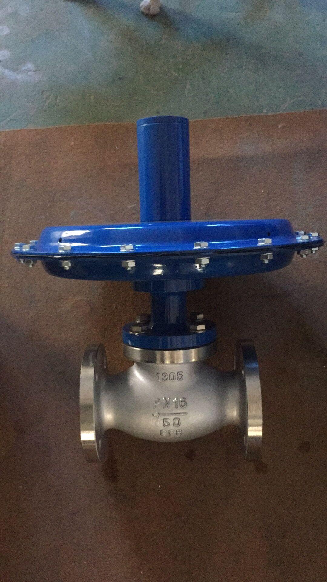 现在介绍 自力式微压调节阀在锅炉燃气压力控制 zzc型自力式差压阀是图片