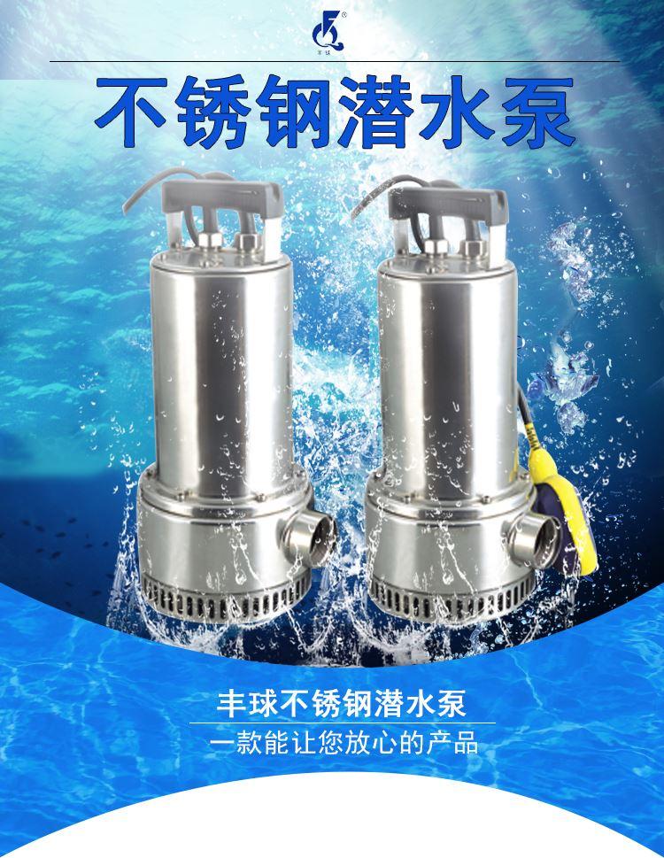 直立式提升泵 耐腐蚀潜水泵图片