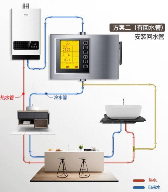 热水器循环泵安装示意图