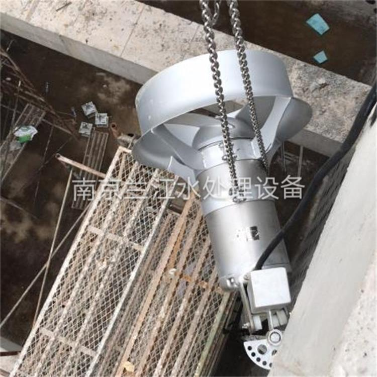 QJB0.55湖北钟祥乡镇污水厂安装现场