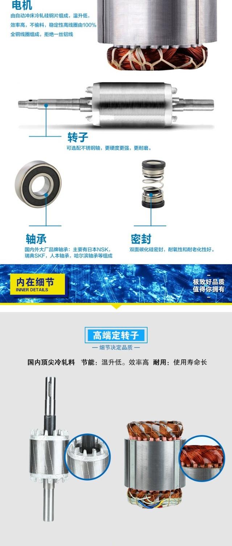 不銹鋼自吸排污泵電機