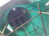 碳钢罐 脱硫塔内玻璃鳞片防腐衬里