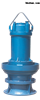 ZQB、HQB轴流泵大流量潜水轴流混流泵
